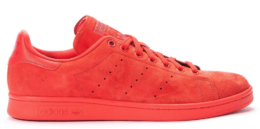 Adidas Stan Smith Suede S75109 Rood maat