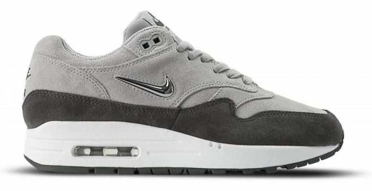 Nike Air Max 1 Premium SC Jewel 918354-004 Grijs maat