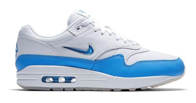 Nike Men Air Max 1 Jewel SC 918354-102 Blauw maat