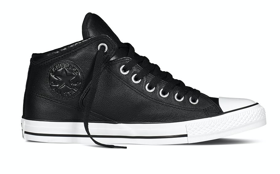 Converse All Stars Leather 149426C Zwart maat