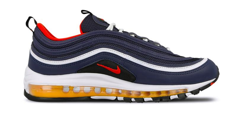 Nike Air Max 97 921826-403 Blauw /Rood maat
