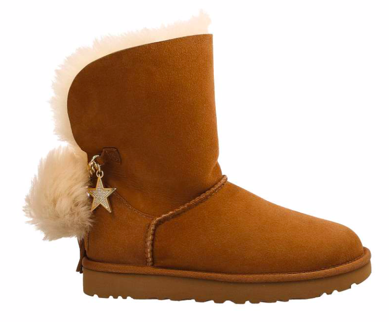 UGG Classic Charm Boot Dames 1095717 W/CHE Bruin maat