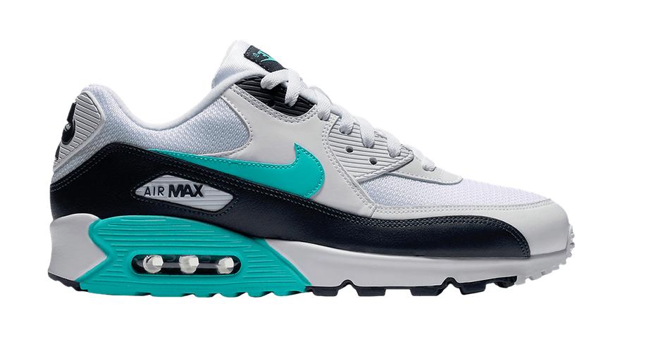 Nike Air Max 90 Essential AJ1285-102 Wit - Groen maat