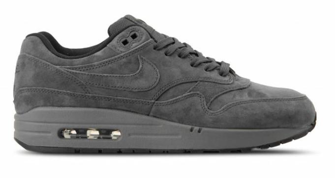 Nike Air Max 1 Premium 875844-010 Grijs maat