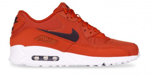 Nike Air Max 90 Essential AJ1285-203 Bruin - Oranje maat