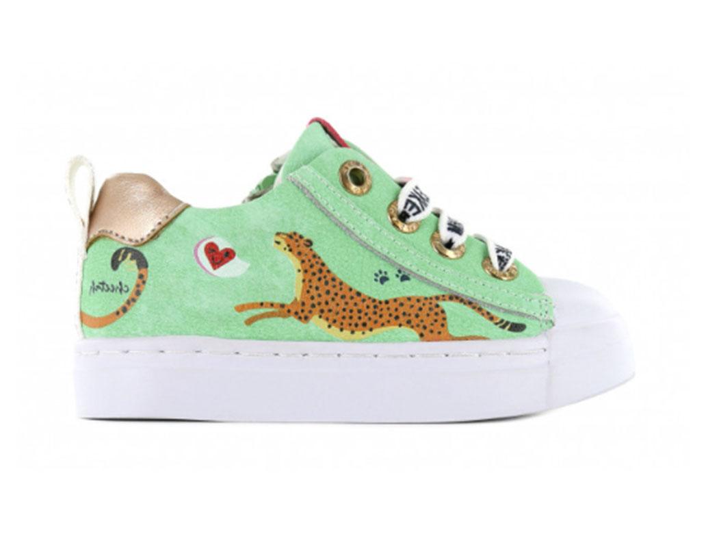 Shoesme Sneakers SH21S002-E Groen-22 maat 22