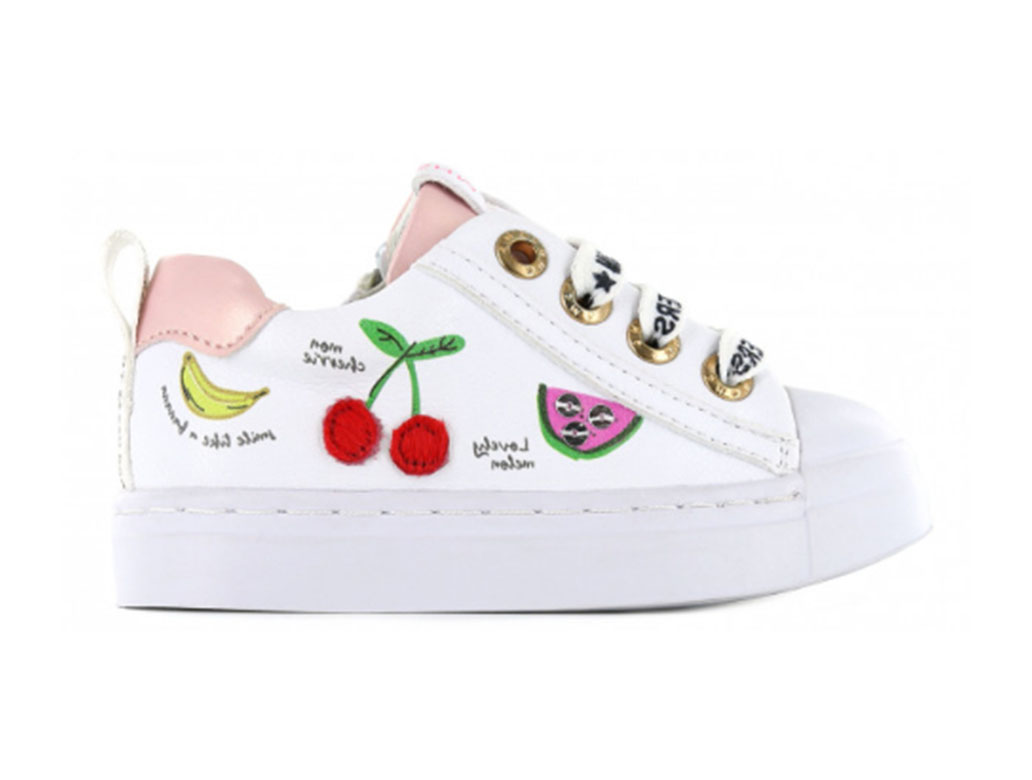 Shoesme Sneakers SH21S002-F Wit-24 maat 24