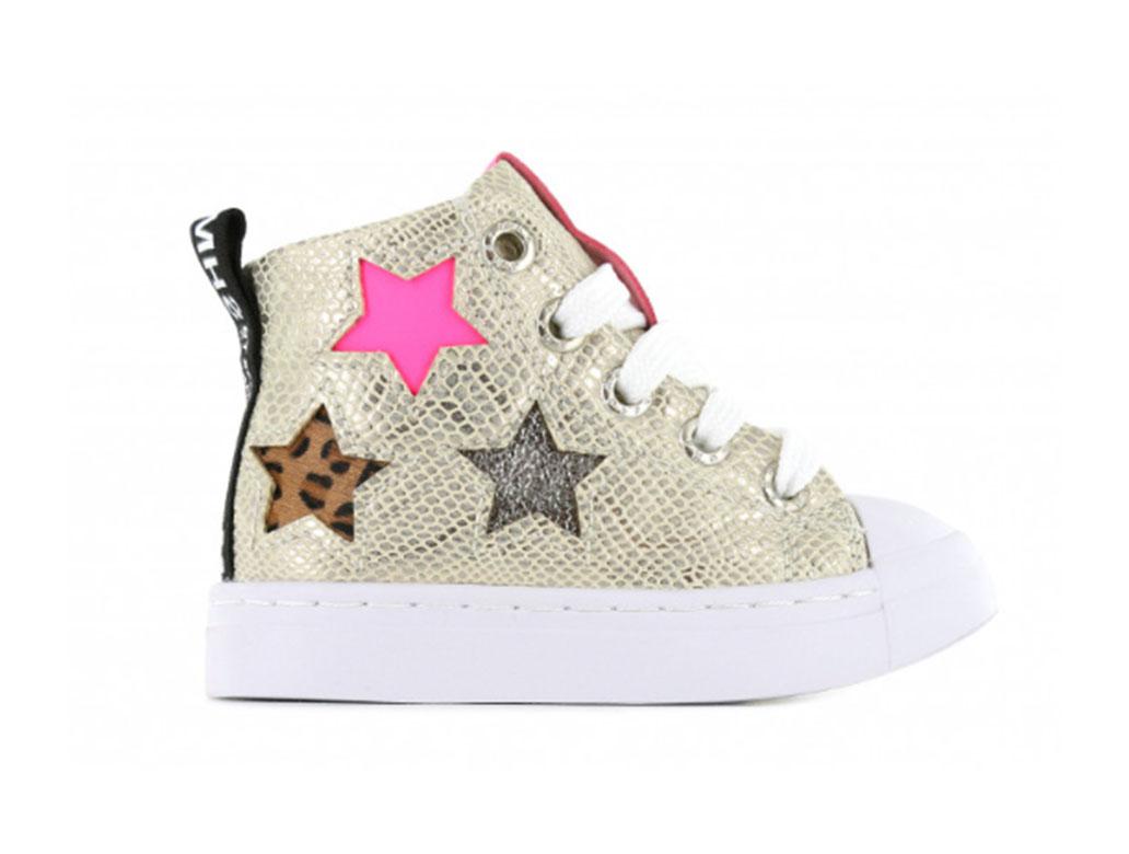 Shoesme Sneakers SH21S005-B Goud-21 maat 21