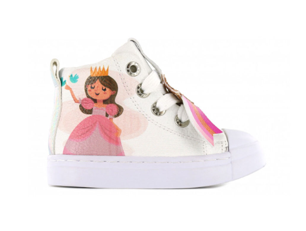 Shoesme Sneakers SH21S006-E Wit-24 maat 24