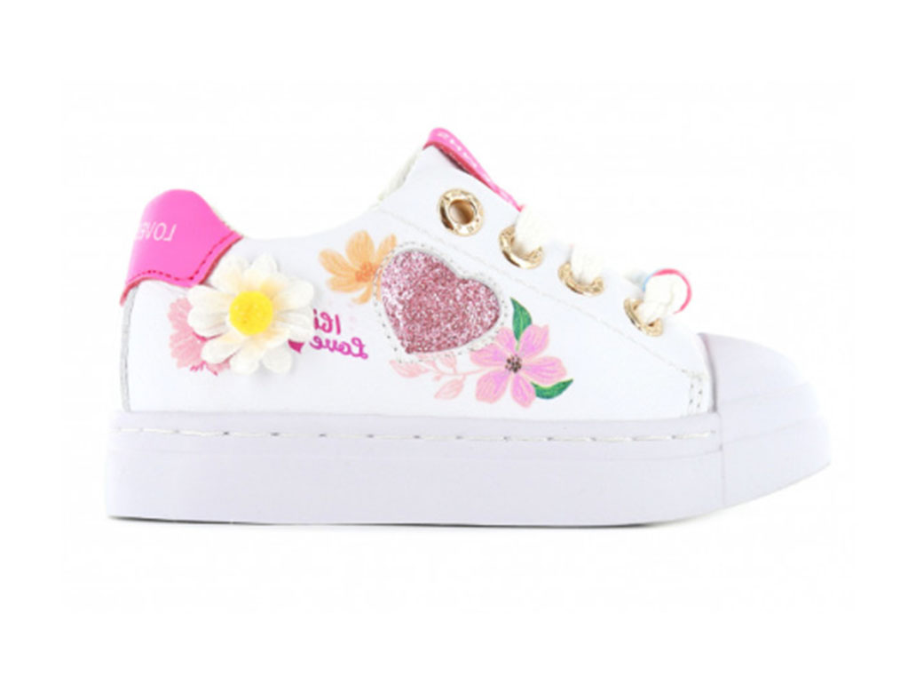 Shoesme Sneakers SH21S016-A Wit-24 maat 24
