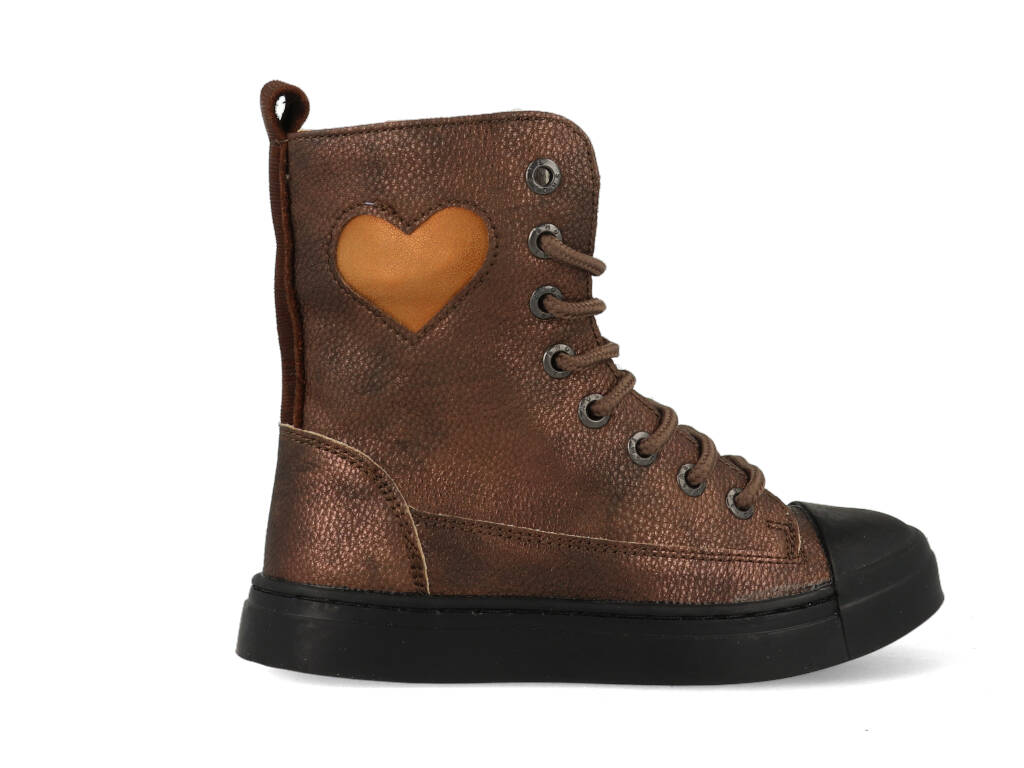 Shoesme Boots SH21W019-D Brons-25 maat 25