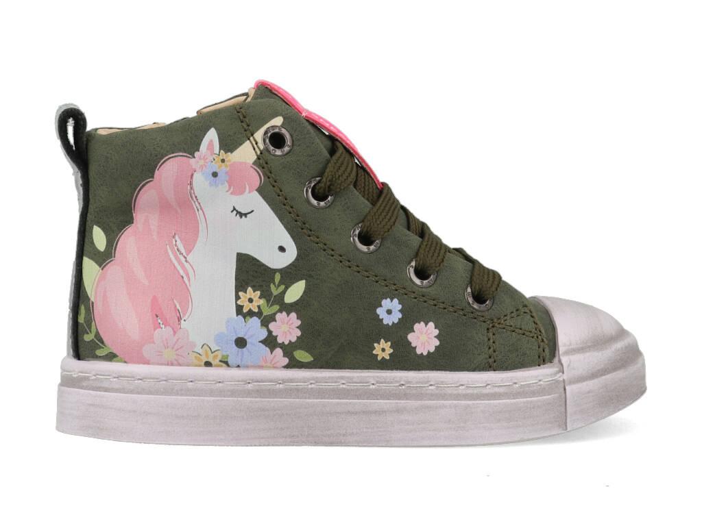 Shoesme Sneakers SH21W020-B Groen-28 maat 28