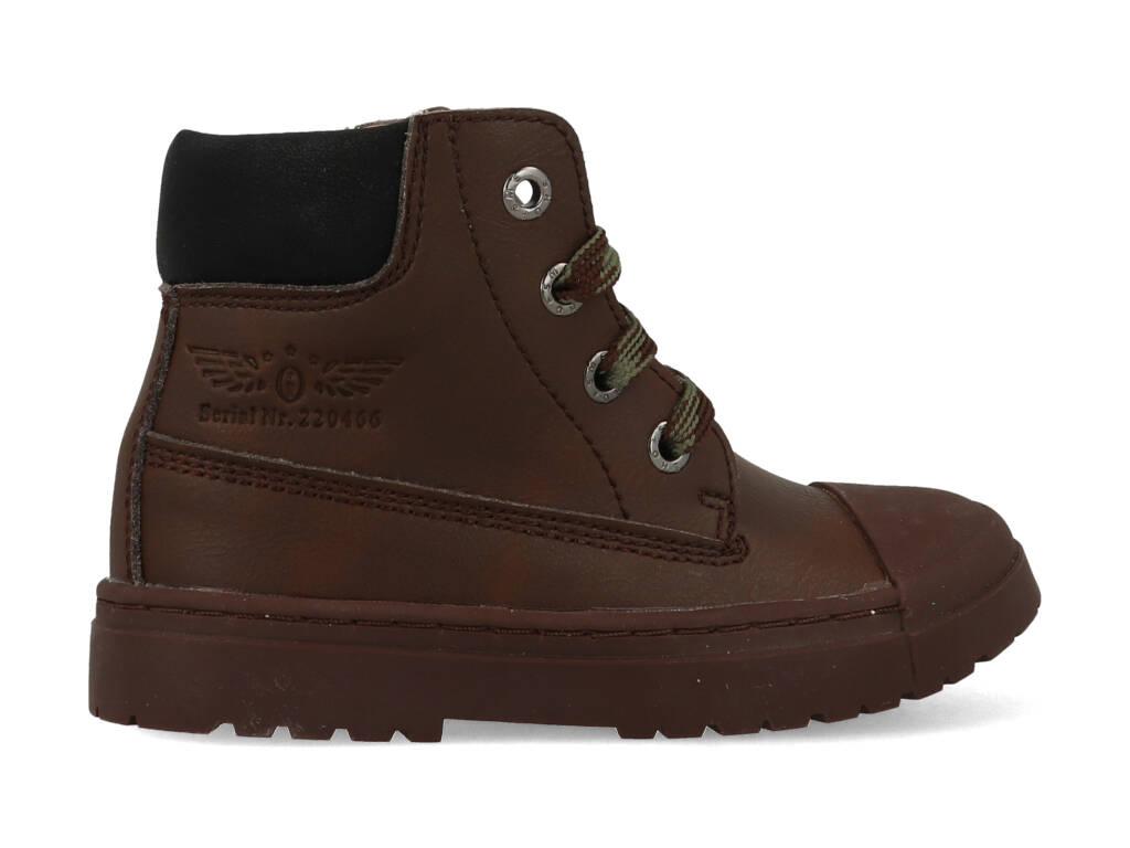 Shoesme Boot Biker Dark Brown SW21W007-A Bruin maat