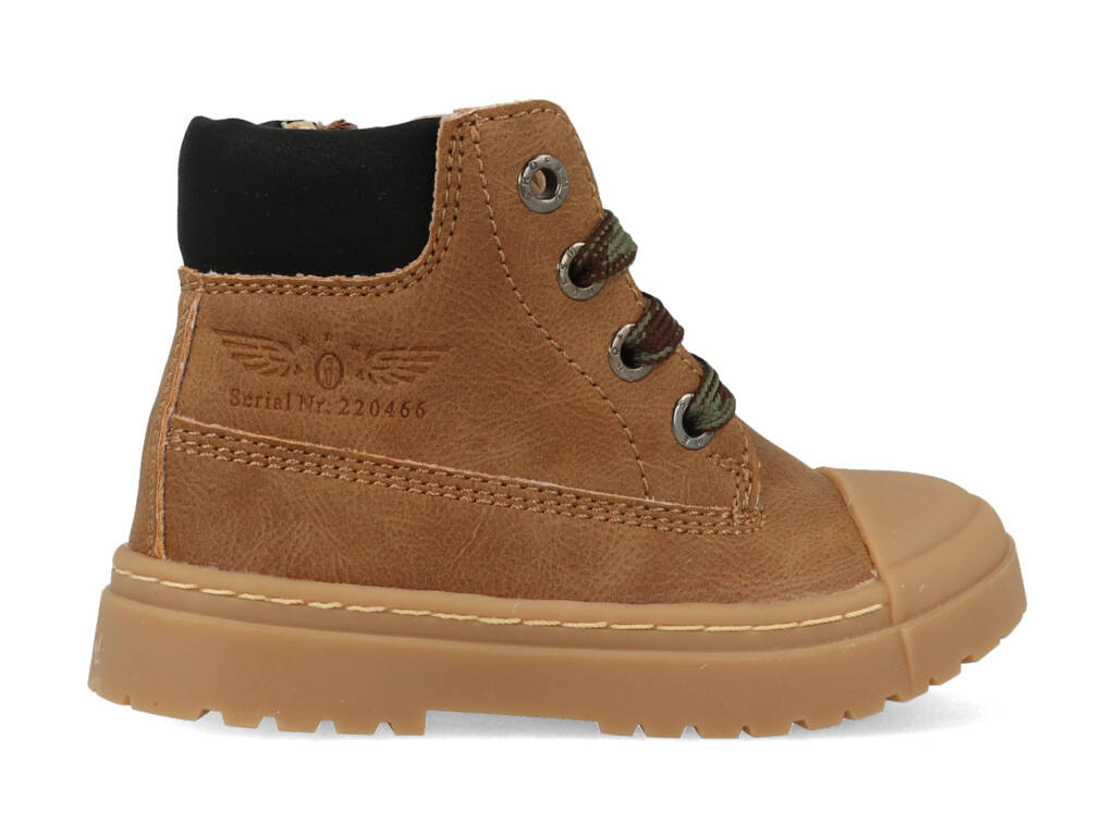 Shoesme Boot Biker Brown SW21W007-B Bruin maat