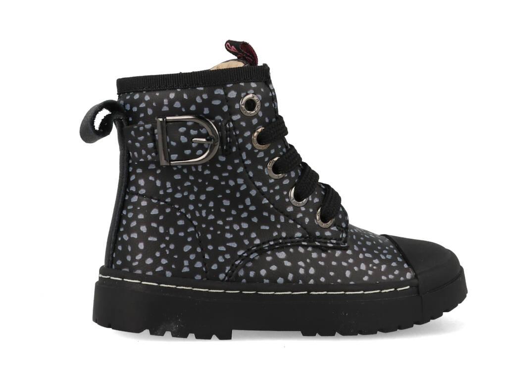 Shoesme Boot Bike Black Dots SW21W013-A Zwart maat