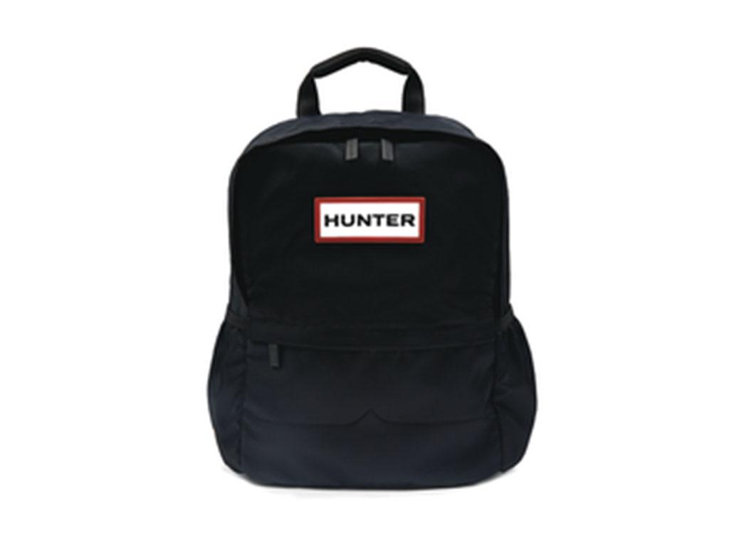 Hunter Original Nylon Rugzak UBB5028KBM-BLK Zwart maat
