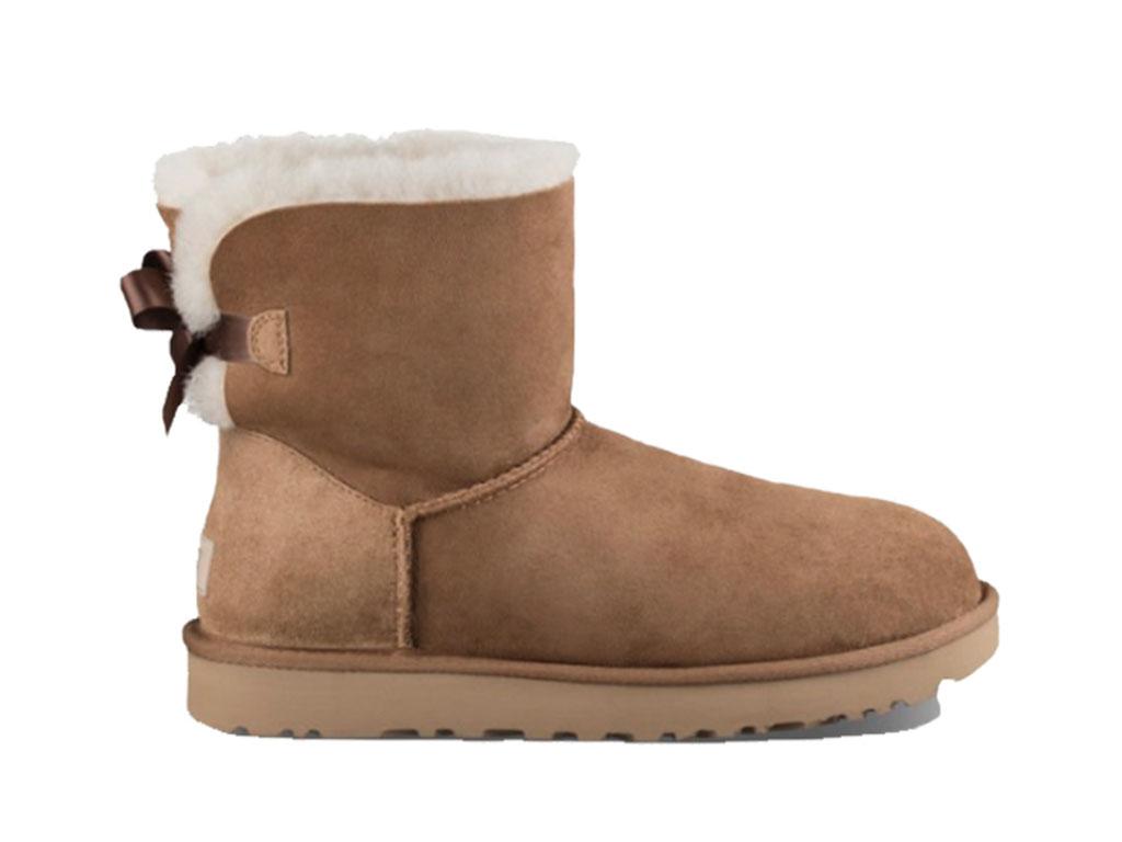 UGG Mini Bailey Bow II Boots 1016501/CHE Bruin maat 17