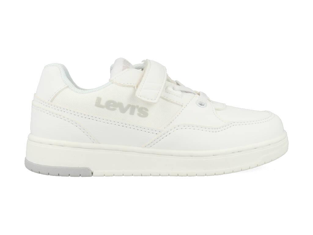 Levi's Sneakers Shot VEL K VIRV0010T Wit-33 maat 33