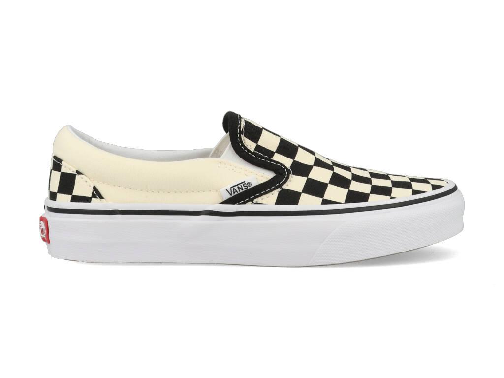 Vans Classic Slip-On Checkerboard VN000EYEBWW1 Zwart - Wit-39 maat 39