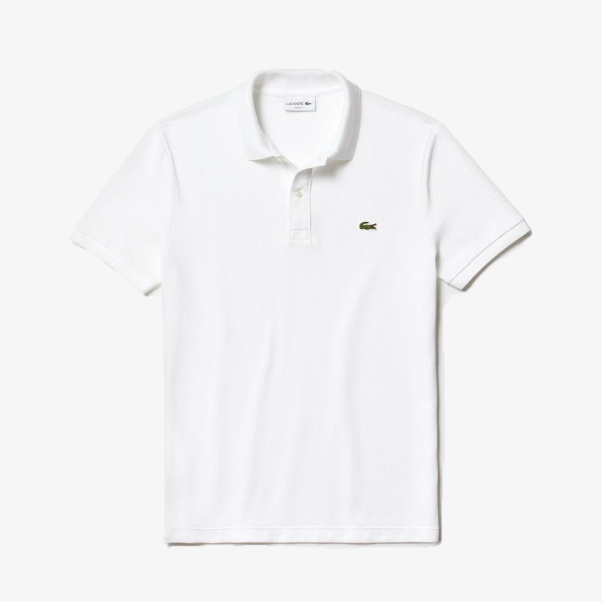 Lacoste Slim Fit Polo PH4012-001 Wit-S maat S