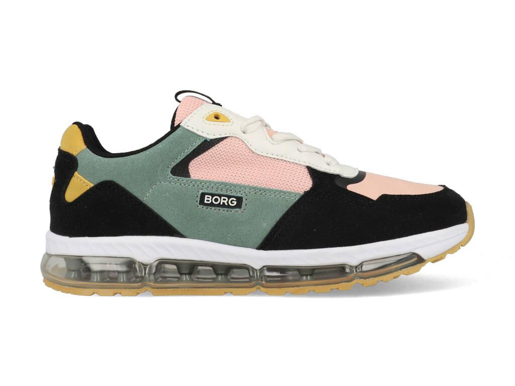 Björn Borg Sneakers X500 BLK K Zwart / Roze maat