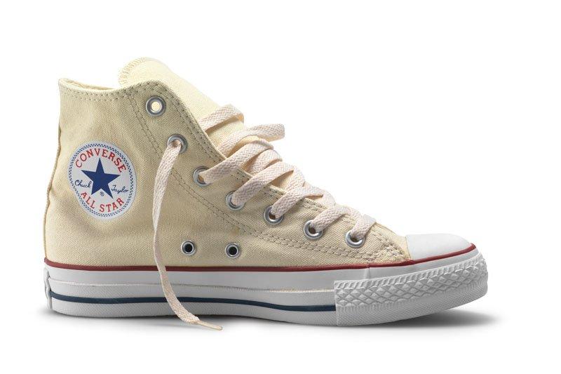 Converse All Stars Hoog Creme maat