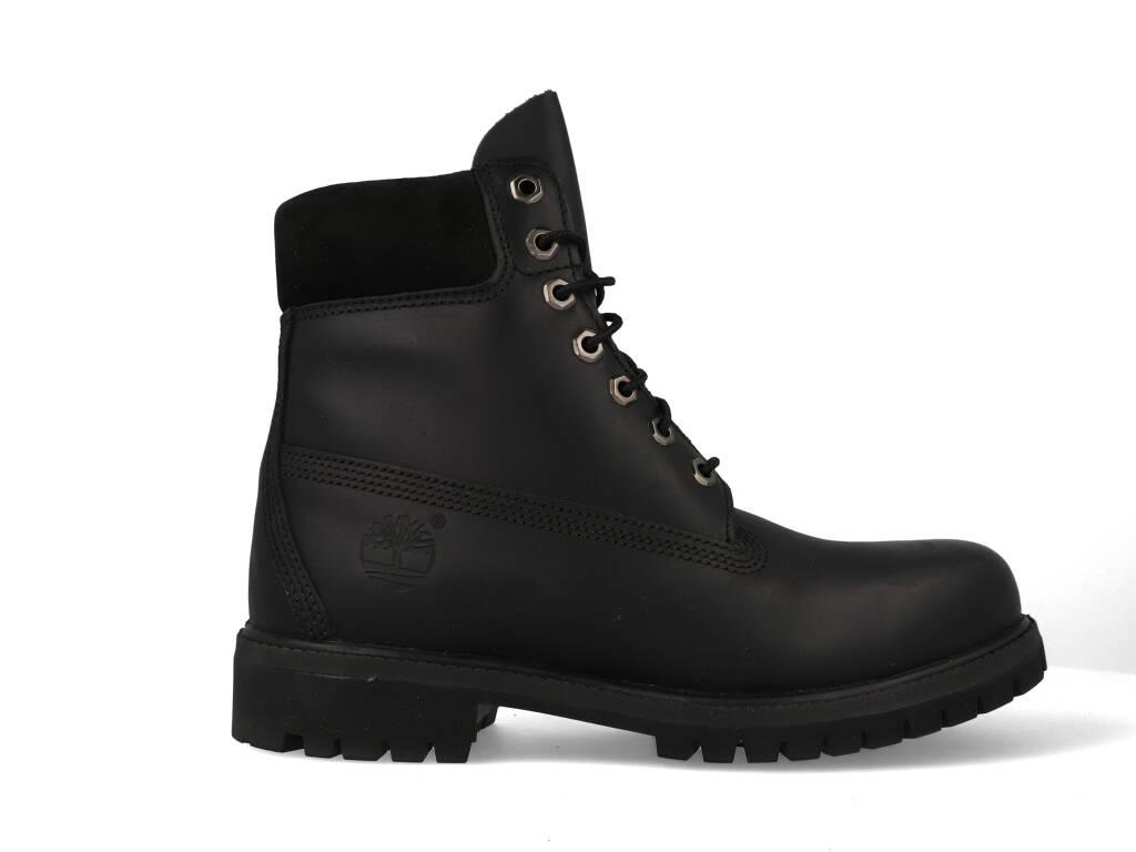Timberland Heren 6 inch Leather Premium Boots Zwart 10054