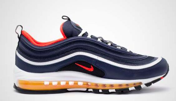 Nike Air Max 97 921826-403 Blauw /Rood-45
