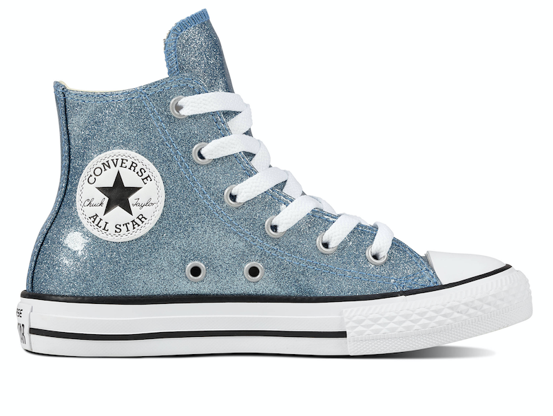 Converse All Stars Junior 661857C Glitter Blauw-33