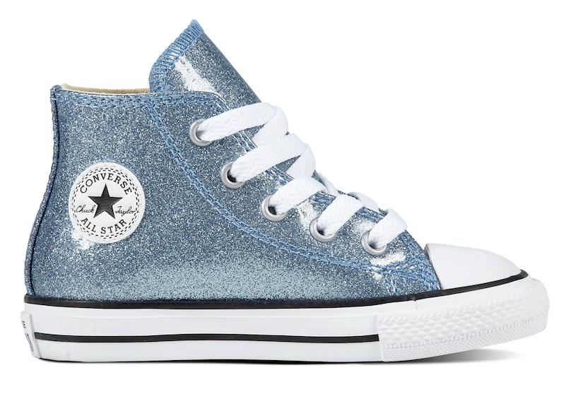 Converse All Stars 761945C Glitter Blauw