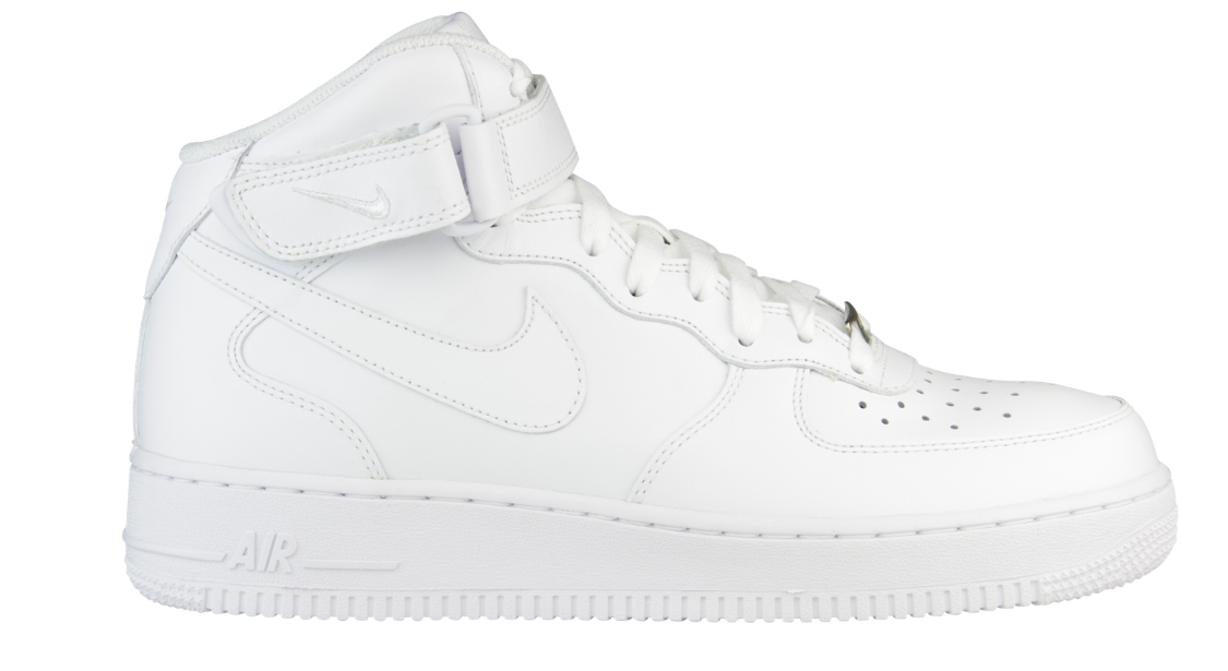 Nike Air Force 1 Mid 315123-111 Wit-45.5 maat 45.5