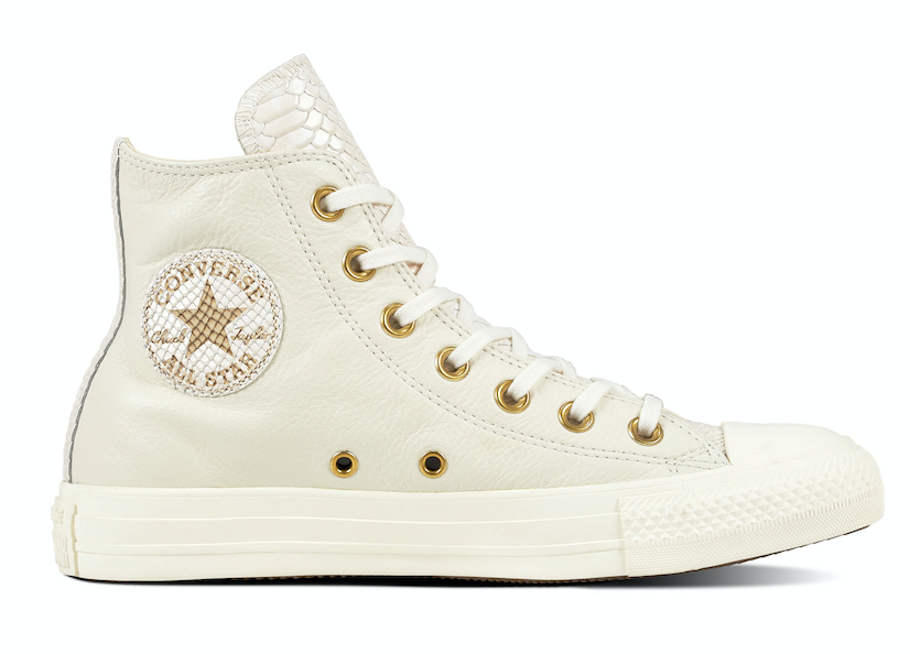 Converse All Stars Leather 561698C Beige / Wit-37