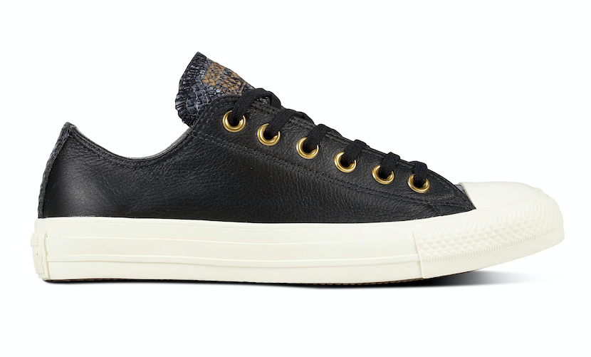 Converse All Stars Leather 561699C Zwart-37