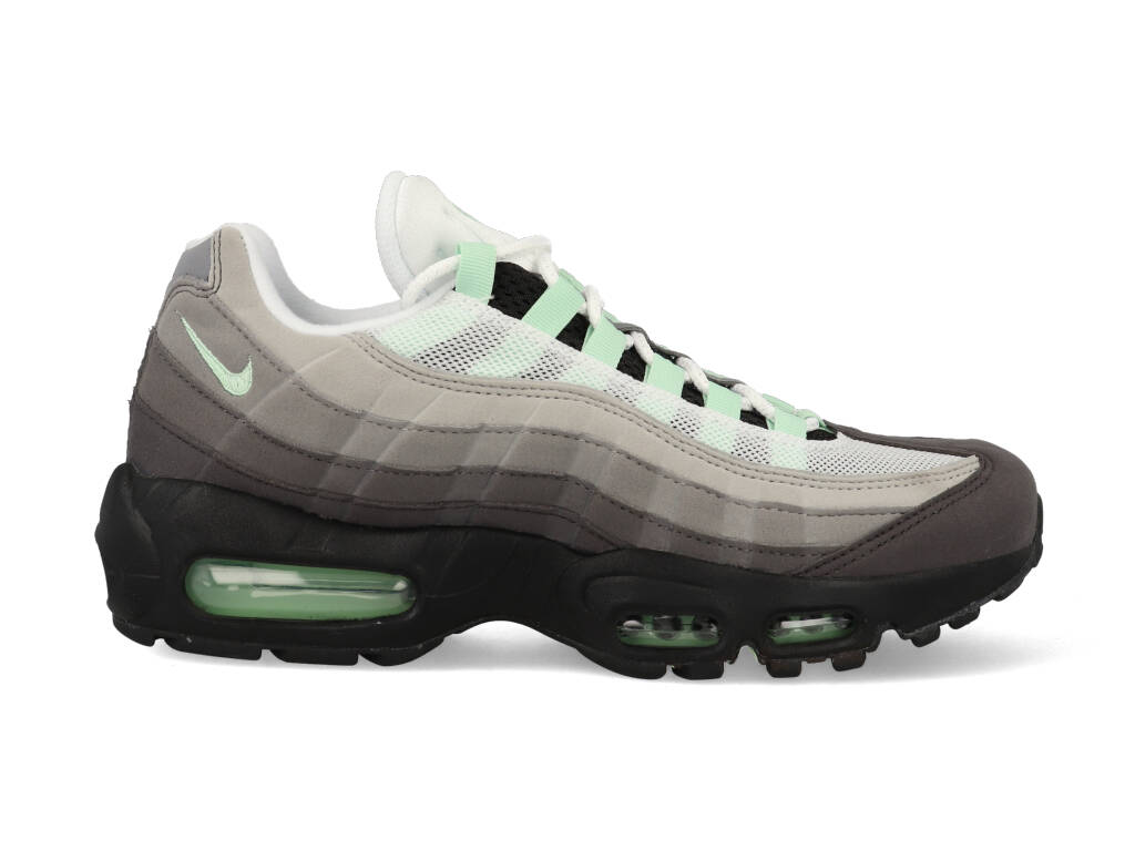 Nike Air Max 95 CD7495 101 Grijs / Groen / Wit