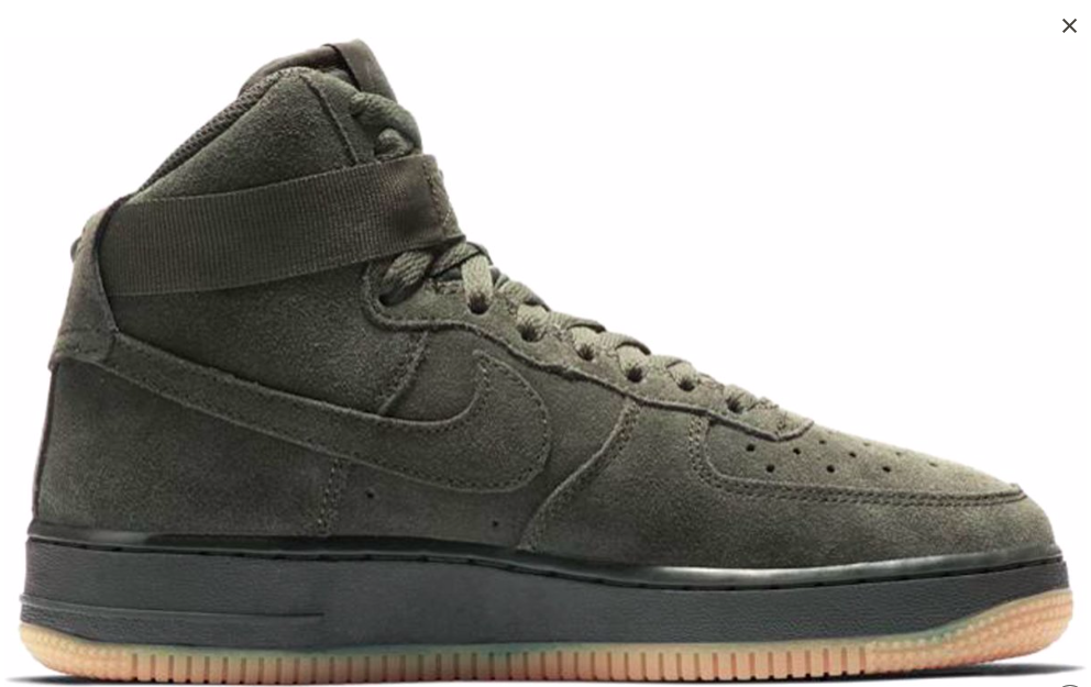 236ade265d0 Nike Air Force 1 Hoog 807617-300 Groen