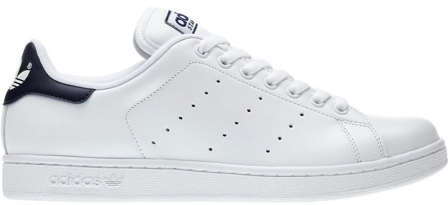 adidas stan smith blauw wit