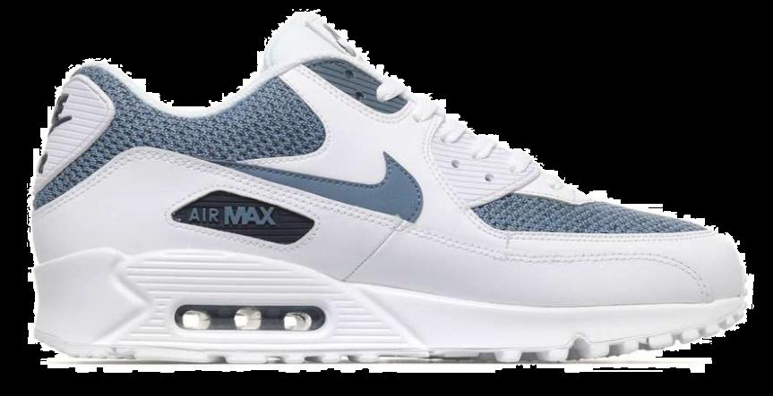 buy online 8ae7b a407a Nike Air Max 90 Essential 537384-133 Wit Blauw