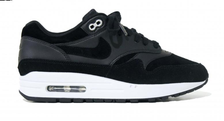 best loved d1ebd 6f22f Nike Air Max 1 Premium Rebel Skulls 875844-001 Zwart