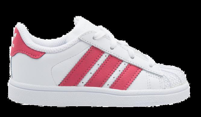 b67aed8e56d Adidas Superstar kids CQ2858 Wit Roze