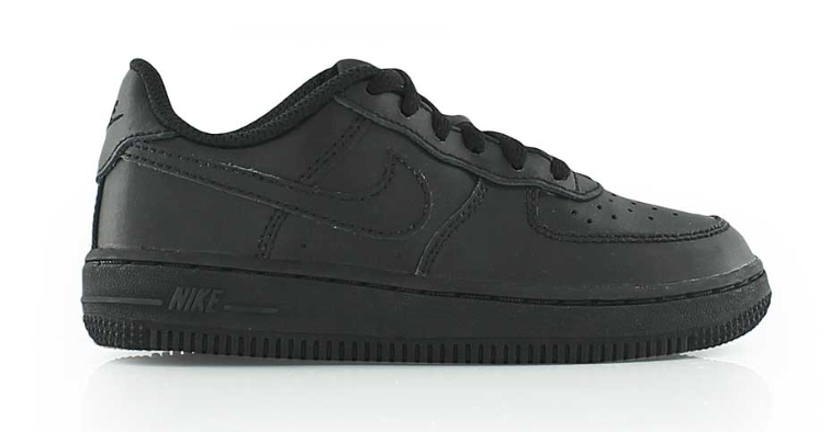 4e2082b27da Nike Air Force 1 Kids 314193-009 Zwart
