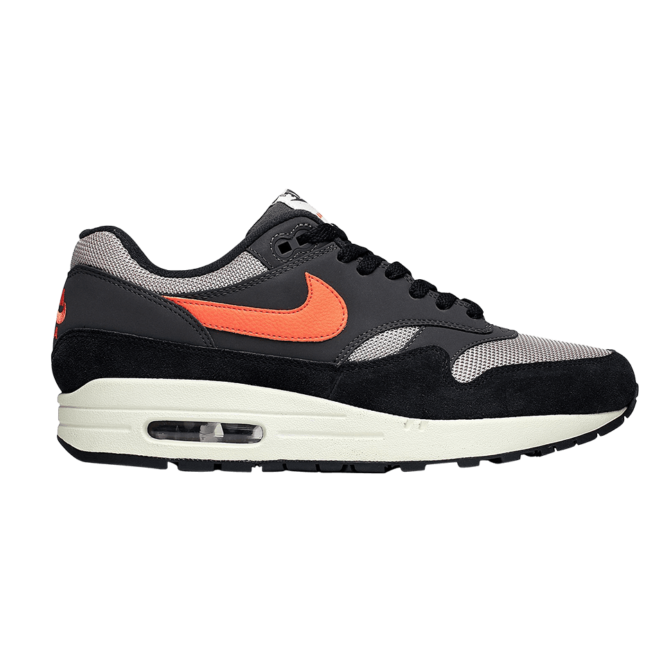 Nike Air Max 1 Oil Grey Wild Mango AH8145 004 Zwart Grijs