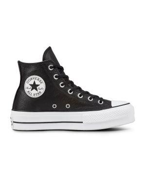 6e1f6189d16 Converse All Stars Hoog Lift Clean 561675C Zwart