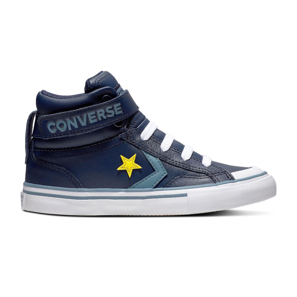 Converse All Stars Pro Blaze Strap 663607C Blauw-33.5
