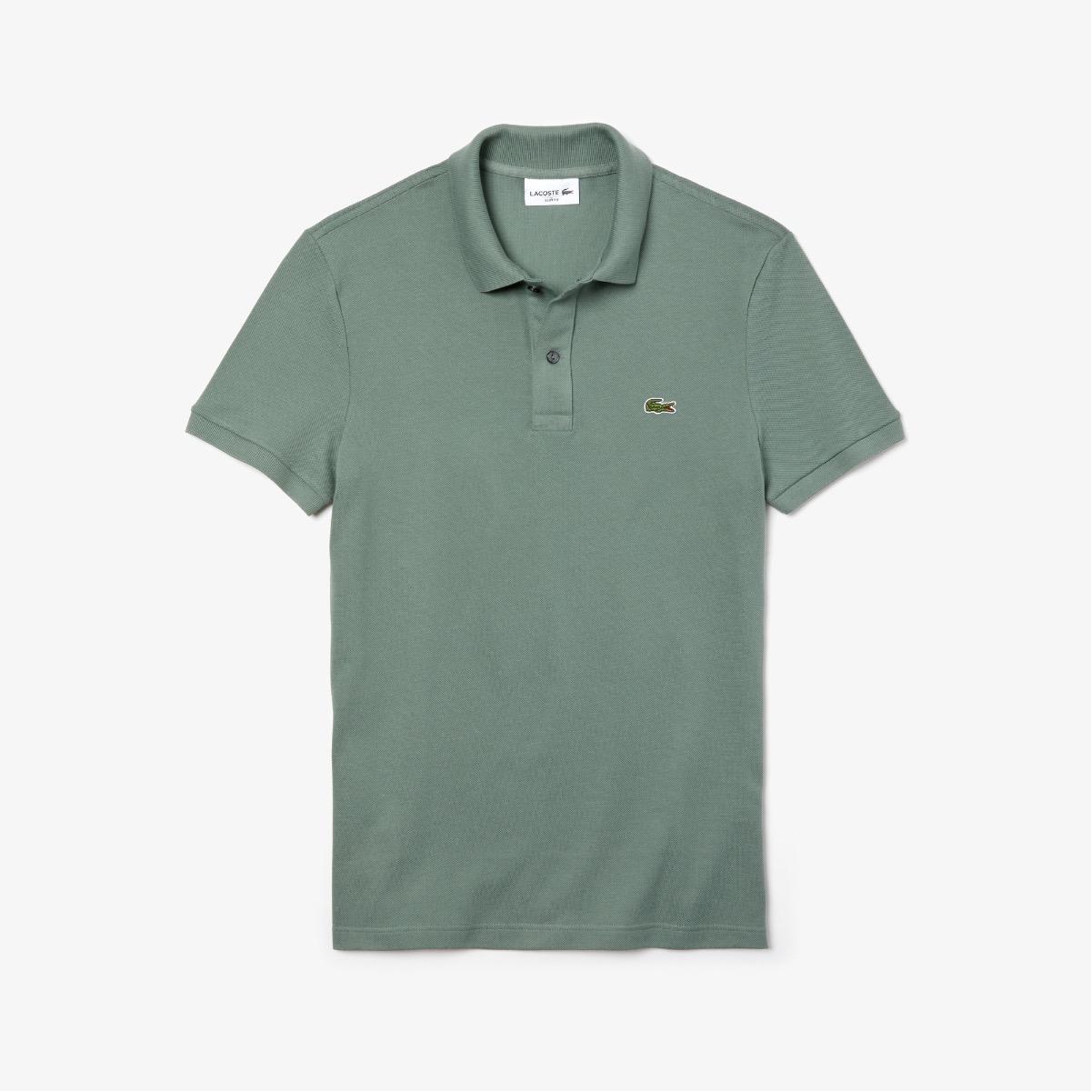 Lacoste Slim Fit Polo PH4012 307 Khaki Groen