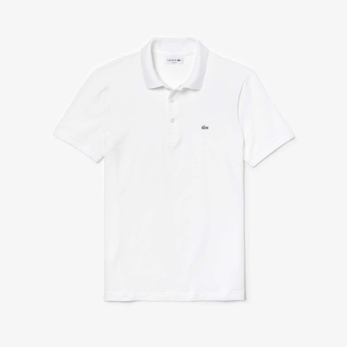 Lacoste Slim Fit Stretch Polo PH4014 001 Wit