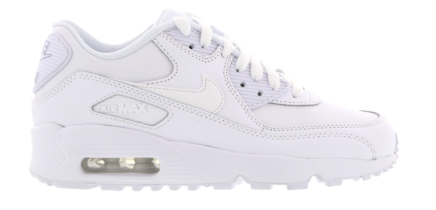 Nike Air Max 90 Leather GS 833412-100 Wit-39