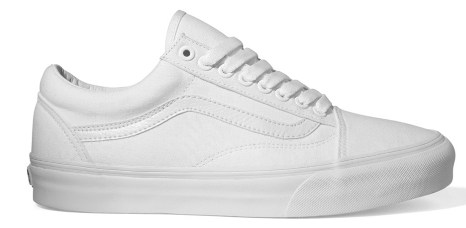 Vans Old Skool VN000D3HW00 Wit Wit-35
