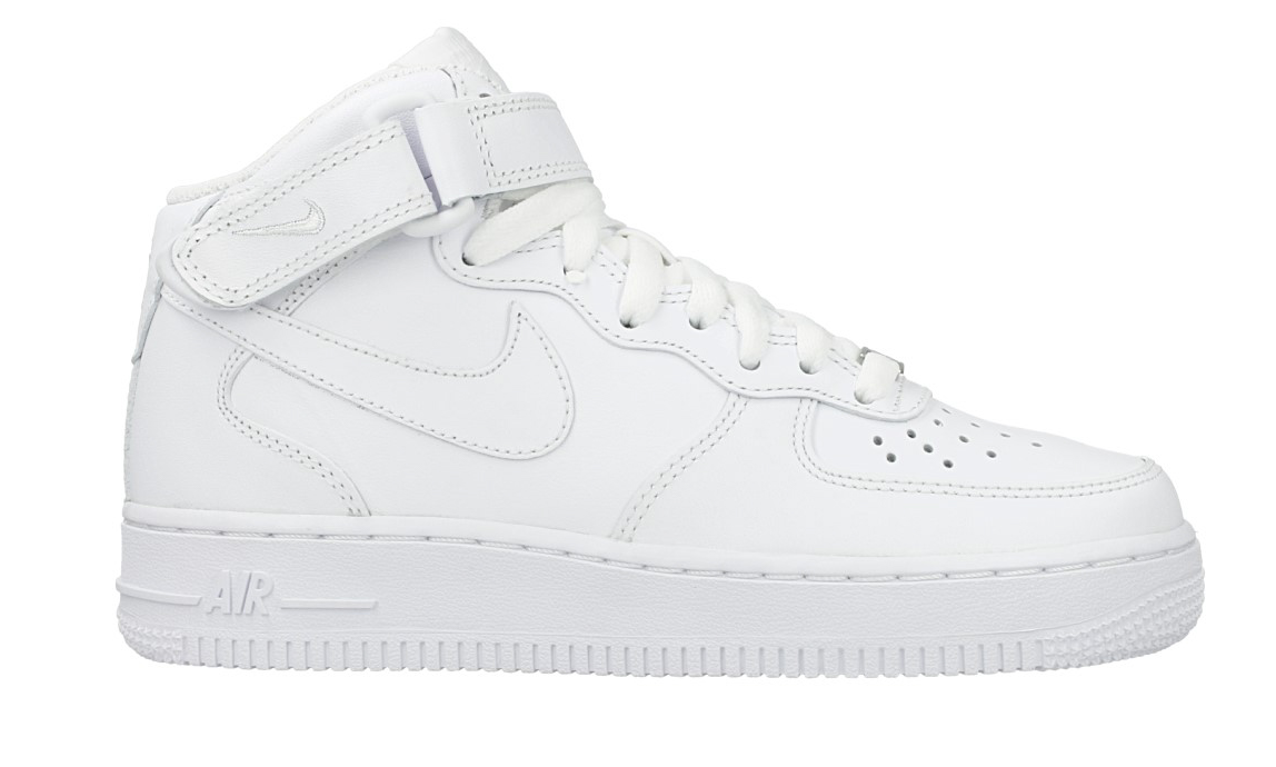 Nike Air Force 1 Mid '07 Wmns 366731-100 Wit-38.5 maat 38.5