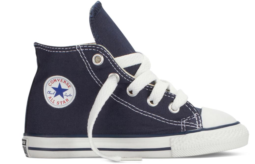 Converse All Stars Hoog Kids 7J233C Blauw-19 maat 19