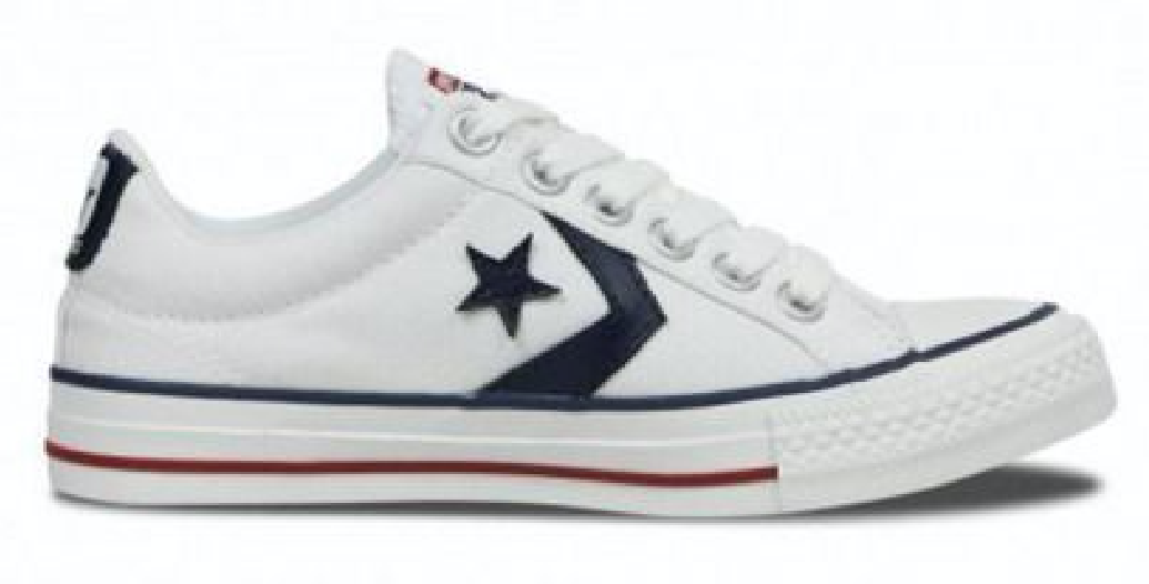 Converse Star Player 144151c Wit Navy-40 maat 40